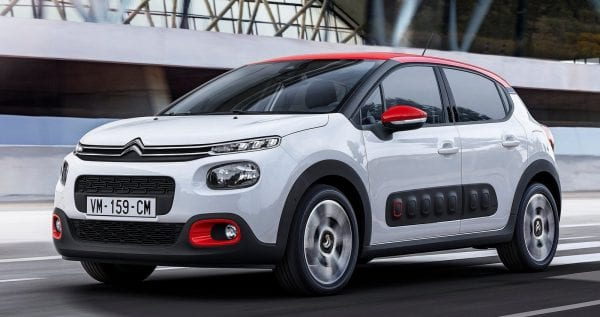 Citroën C3 Shortlease