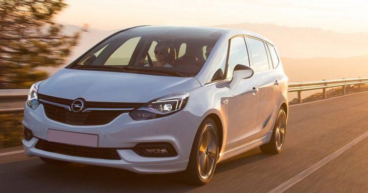Opel Zafira Shortlease