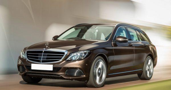 Mercedes C klasse Estate Shortlease