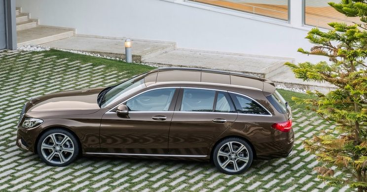 Mercedes C klasse Estate Shortlease