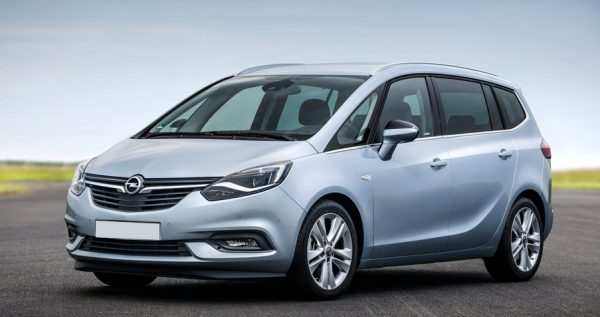 Opel Zafira Shortlease