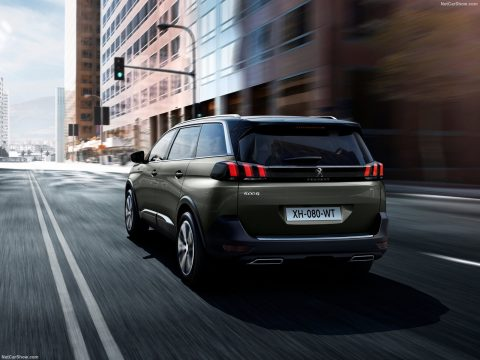 Peugeot 5008 Blue Lease Executive