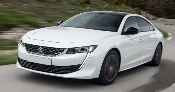 Peugeot 508 Blue Lease Executive