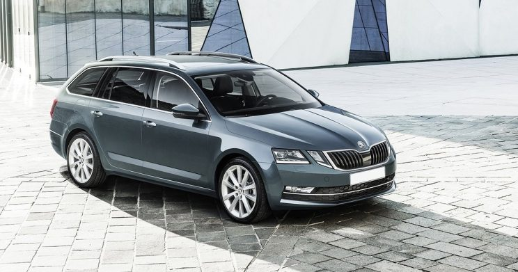 Skoda Octavia Combi Greenline Businessline Shortlease